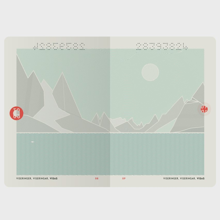 Norway's recently redesigned passport