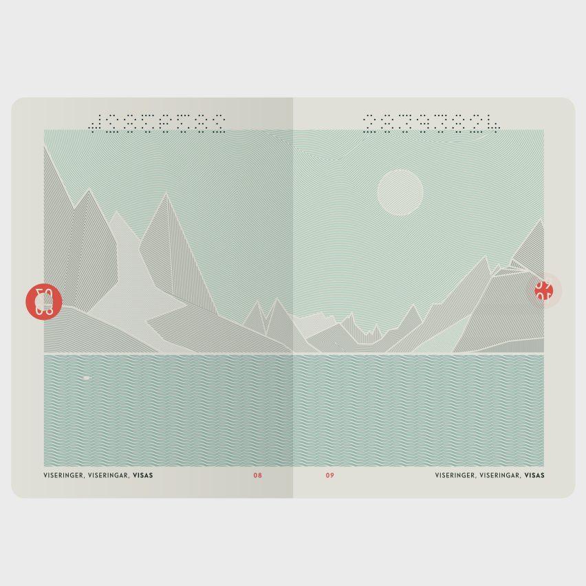 Norway's recently redesigned passport