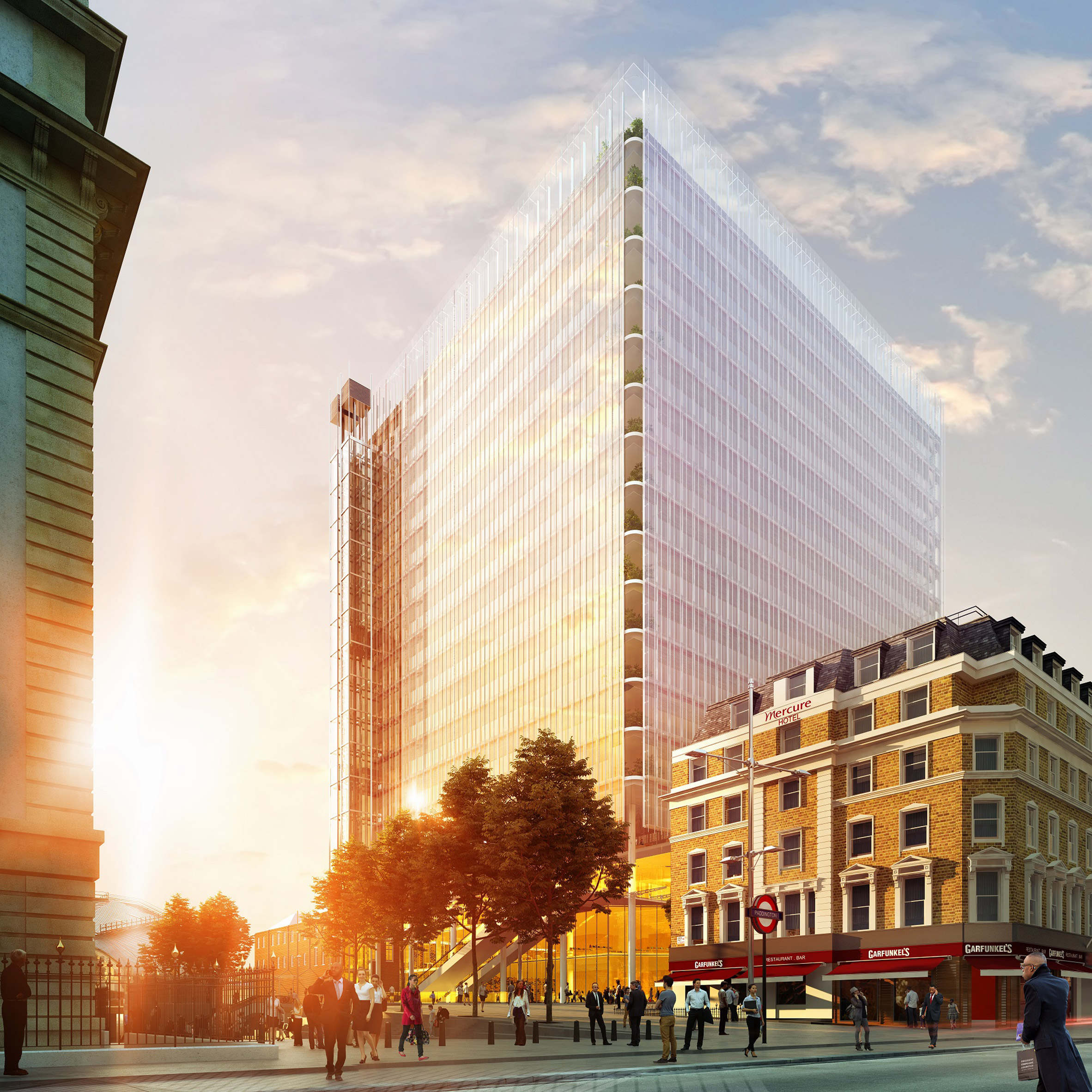 Plans for Renzo Piano's Paddington Cube put on hold