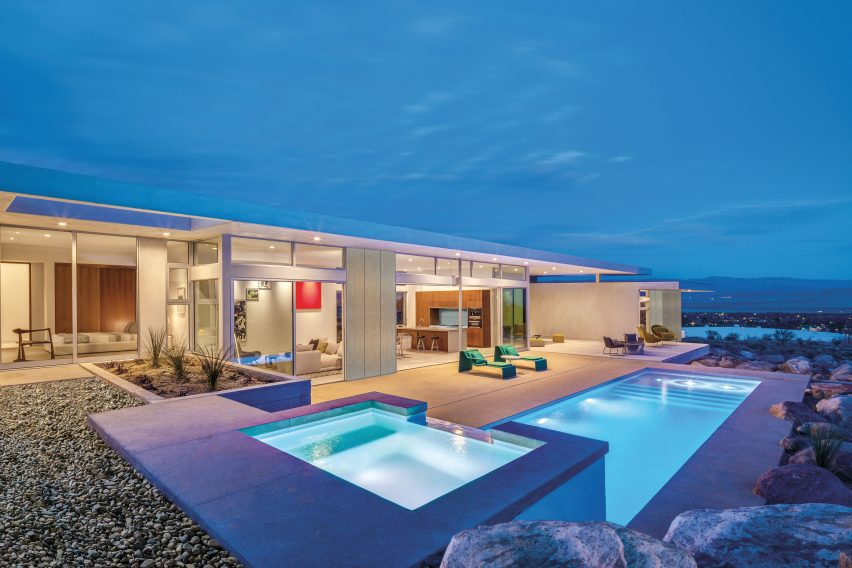 Palm Springs Chino Canyon home by Lance O'Donnell of o2 Architecture