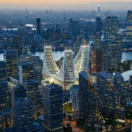 Calatrava reveals £1 billion scheme for London's Greenwich Peninsula