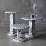 "Another Brand exploits ""endless potential"" of terrazzo for table collection"