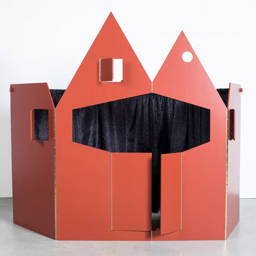 IMM: Puppet Theatre by Robbrecht en Daem architects