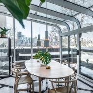 Apartment in Moshe Safdie's Habitat 67 undergoes full interior redesign