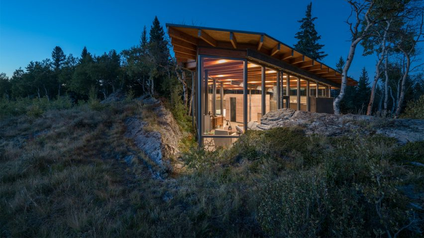 Rock House by Cutler Anderson Architects.