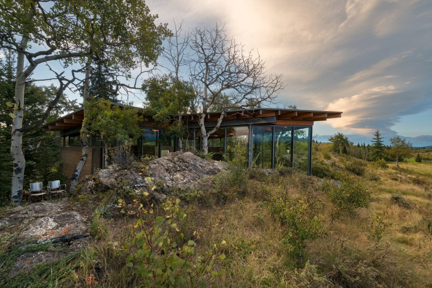 Rock House by Cutler Anderson Architects