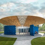 Diébédo Francis Kéré reveals tree-inspired design for Serpentine Pavilion 2017