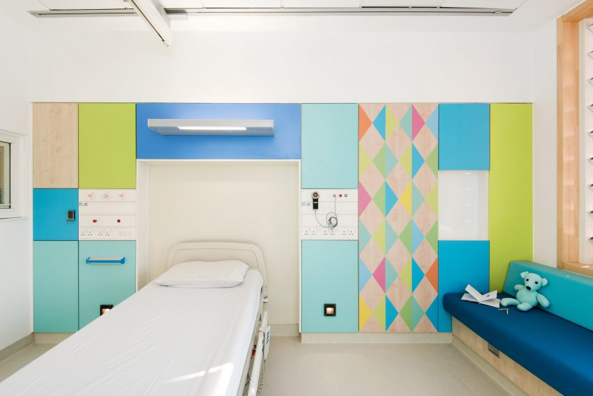Morag Myerscough brightens the wards of Sheffield Childrens Hospital