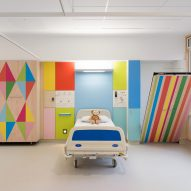 Sheffield Children's Hospital by Morag Myerscough