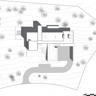 Site plan Martis Camp 506 by Blaze Makoi Califronia Holiday Home