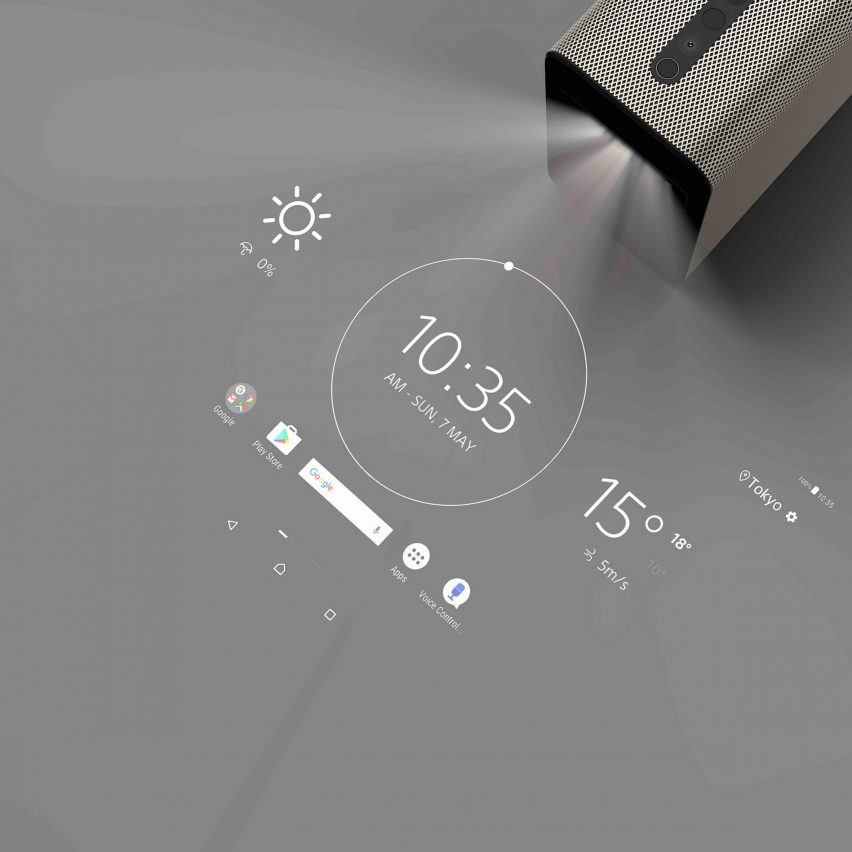 Sony's Xperia Touch Projector Turns Any Surface Into A Touchscreen