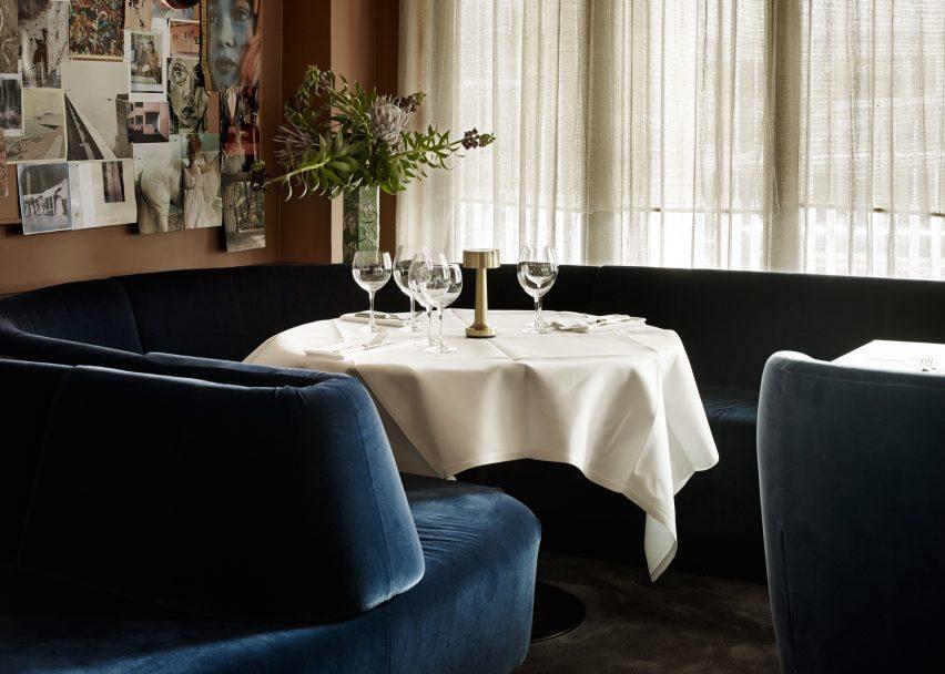 LouLou Restaurant, Denmark, by Space Copenhagen