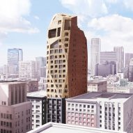 ASAP gives rocky form to Downtown LA hotel tower