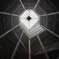 Stairwell Suicide Cage Matt Van der Velde Architecture Abandoned Asylums Interior Jonglez Publishing