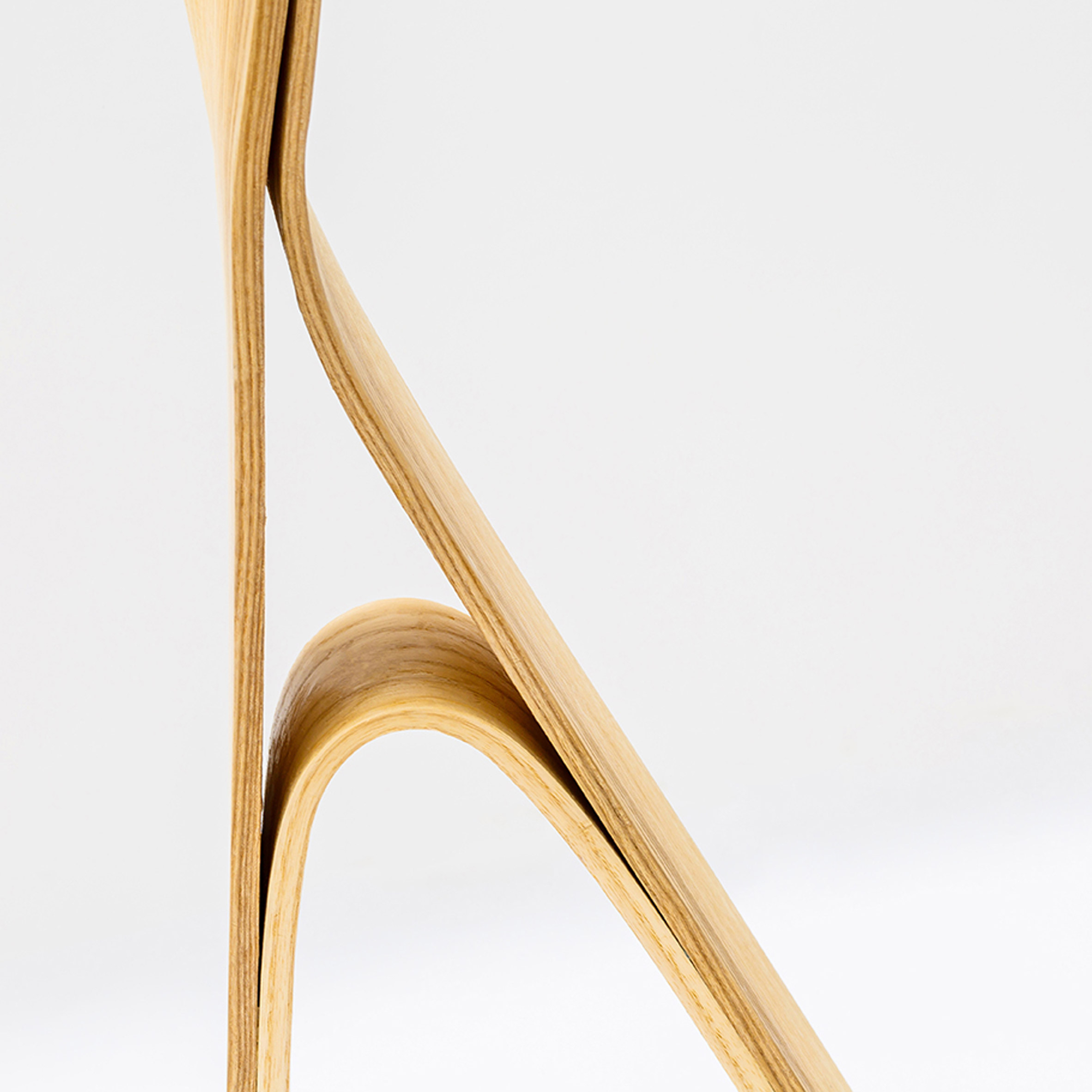 IMM  Steam bending furnitures. Bar Gantz uses steam bending to create twisted wood furniture