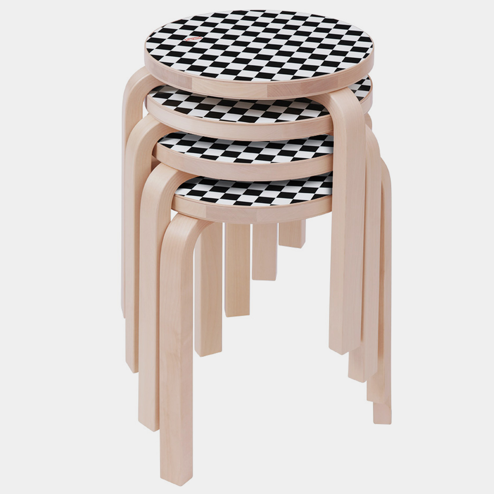 Supreme Unveils Chequerboard Edition Of Artek S Iconic Aalto Stool 60