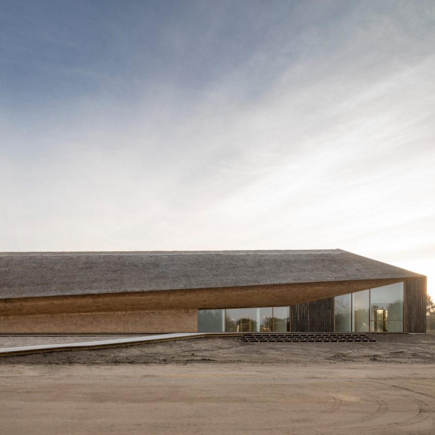 The Danish Wadden Sea Centre by Dorte Mandrup