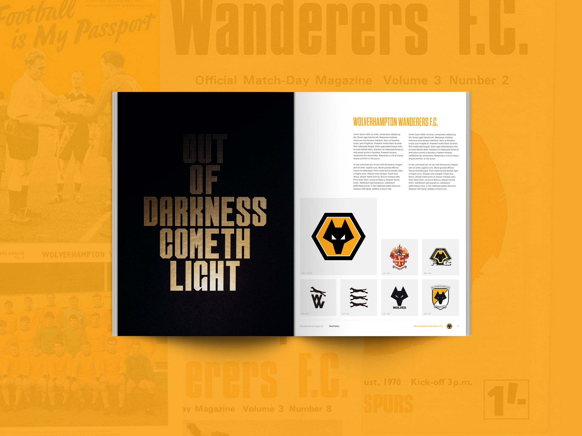 Competition: win an index documenting crests from English football clubs over the years