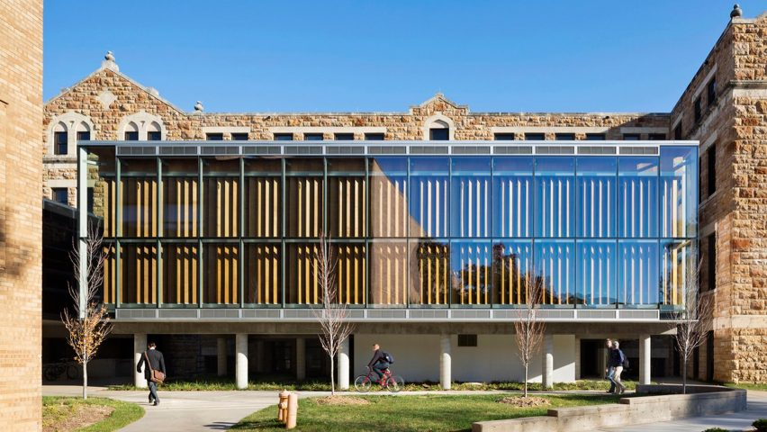University Of Kansas Architecture School Extension Features Double Layered  Glass Skin