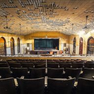Asylum Theater Matt Van der Velde Architecture Abandoned Asylums Interior Jonglez Publishing