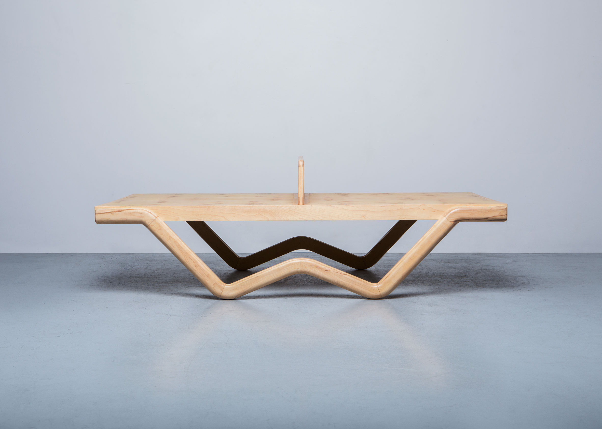 Tina Burner ping-pong table by Louie George Michael