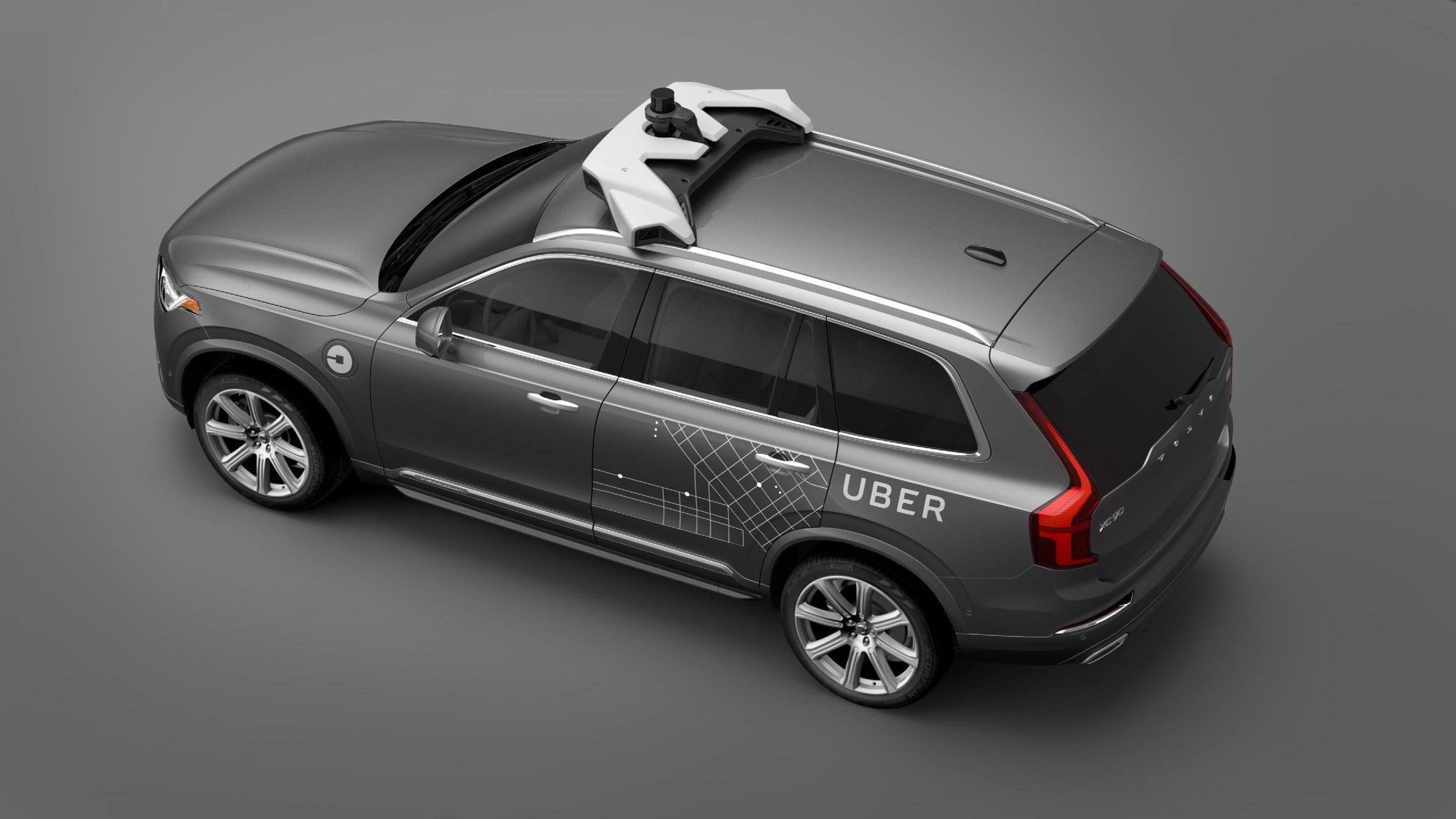 Design of car model - Uber Edges Towards Driverless Taxis With Daimler Partnership