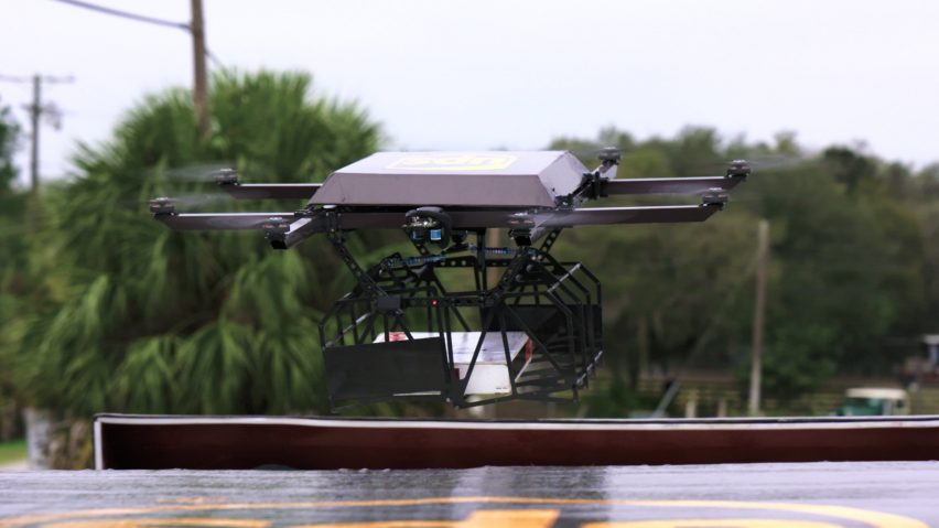 UPS tests delivery by drone