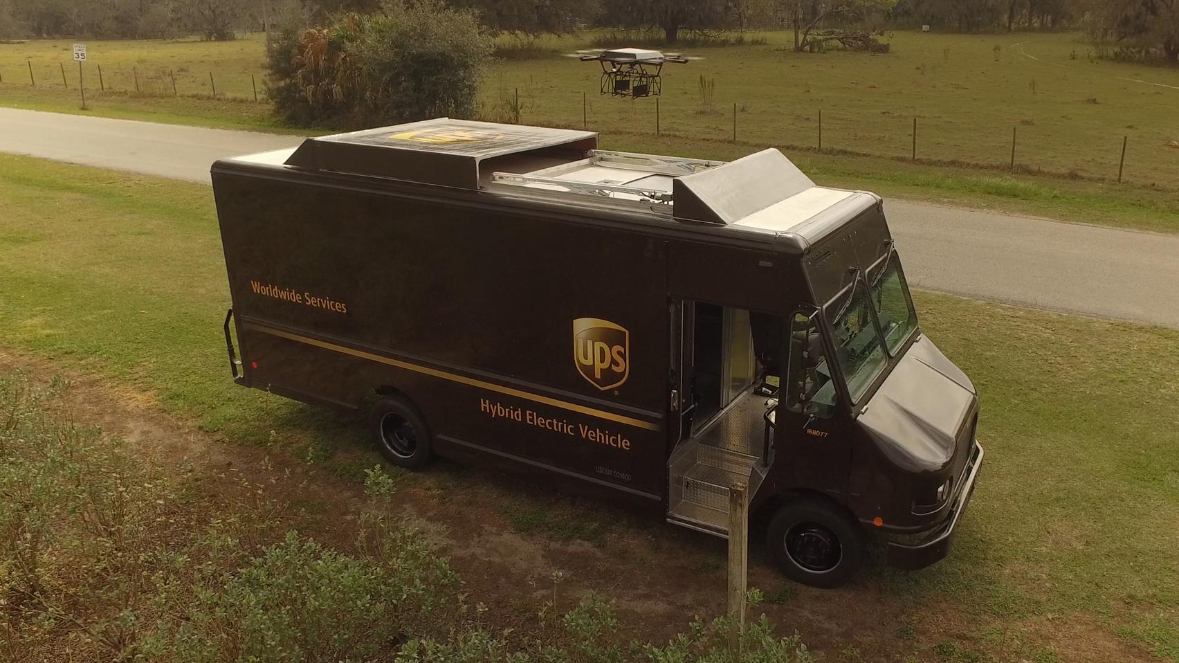 ups drone truck ile ilgili görsel sonucu