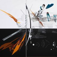 Zaha Hadid's abstract paintings translated into immersive virtual reality experiences at Serpentine Gallery