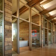 Interior of Washington Fruit Produce HQ Graham Baba Architects