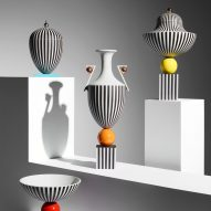 Lee Broom unveils postmodernism-inspired ceramics for Wedgwood