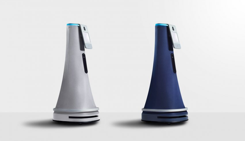 Yves B Har Creates Unthreatening Design For Cobalt Security Robot - Dezeen