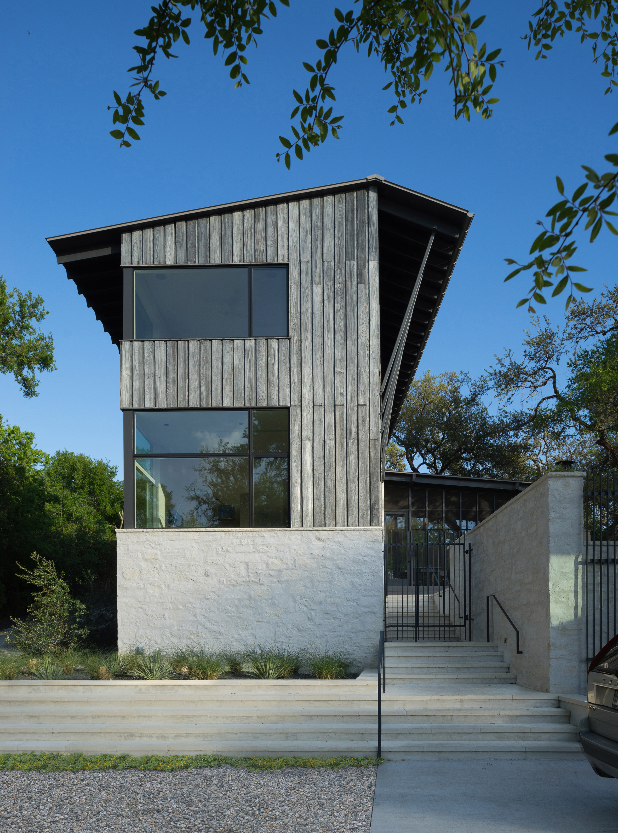 Tim Cuppett designs Austin hillside home to be both modern and rustic