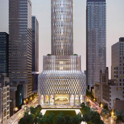666 Fifth Avenue by Zaha Hadid Architects