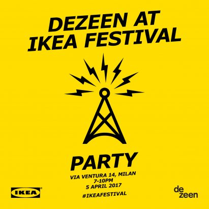 Dezeen at IKEA Festival Party