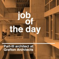 Job of the day: Part-III architect at Grafton Architects