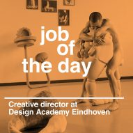 Job of the day: creative director at Design Academy Eindhoven