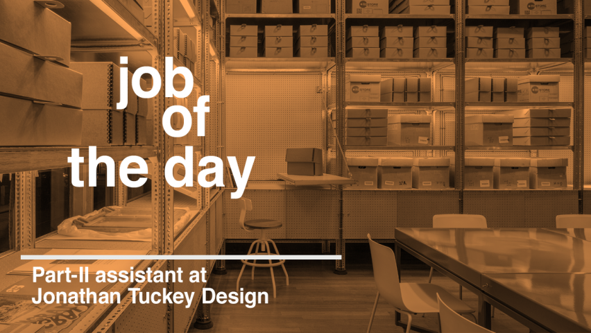 Job Of The Day Part II Architectural Assistant At Jonathan Tuckey Design