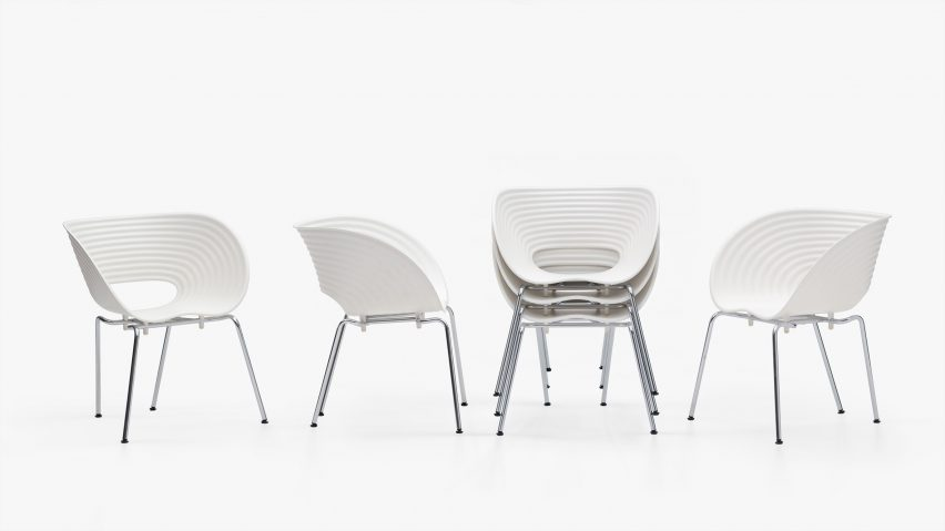 Tom Vac chair by Ron Arad for Vitra