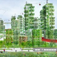 Stefano Boeri envisions entire cities filled with tree-covered skyscrapers
