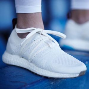 ... made from ocean plastic. Adidas Parley UltraBOOST X by Stella McCartney