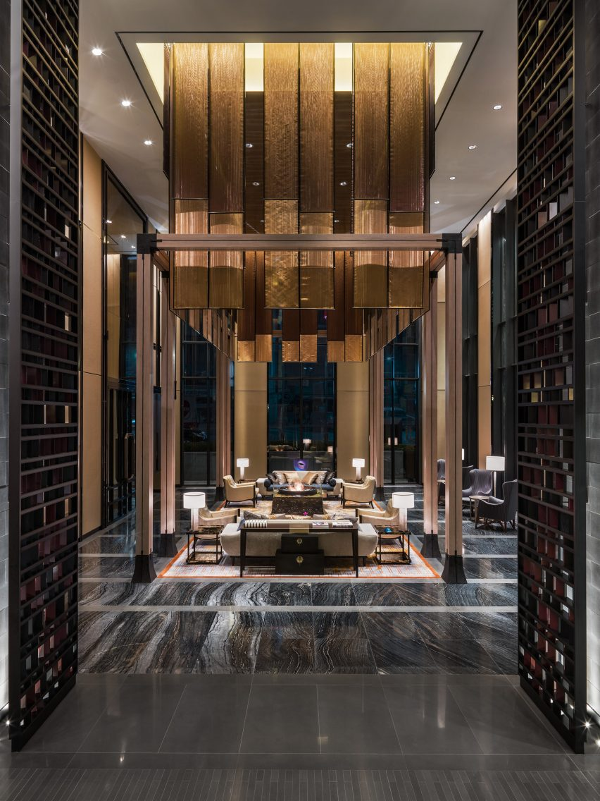The Lobby Of Four Seasons Hotel In Seoul By Heerim Architects And LTW Designworks
