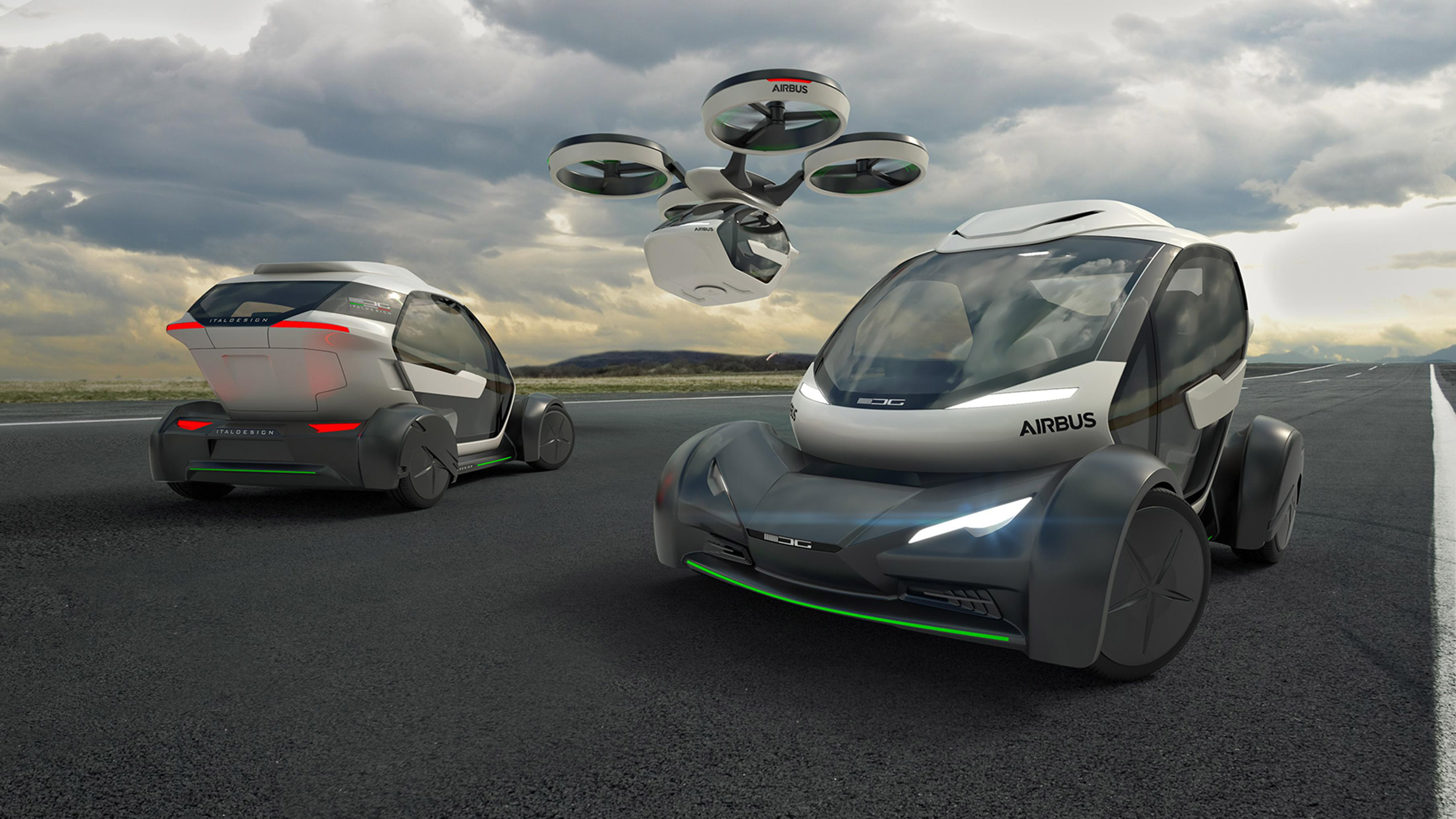Airbus presents concept for flying car at Geneva Motor Show