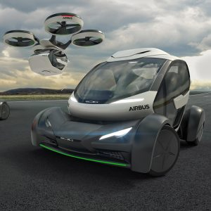 Airbus Presents Concept For Flying Car At Geneva Motor Show - Show car transport
