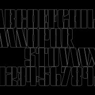 Alphabet for Pink Floyd by Pentagram