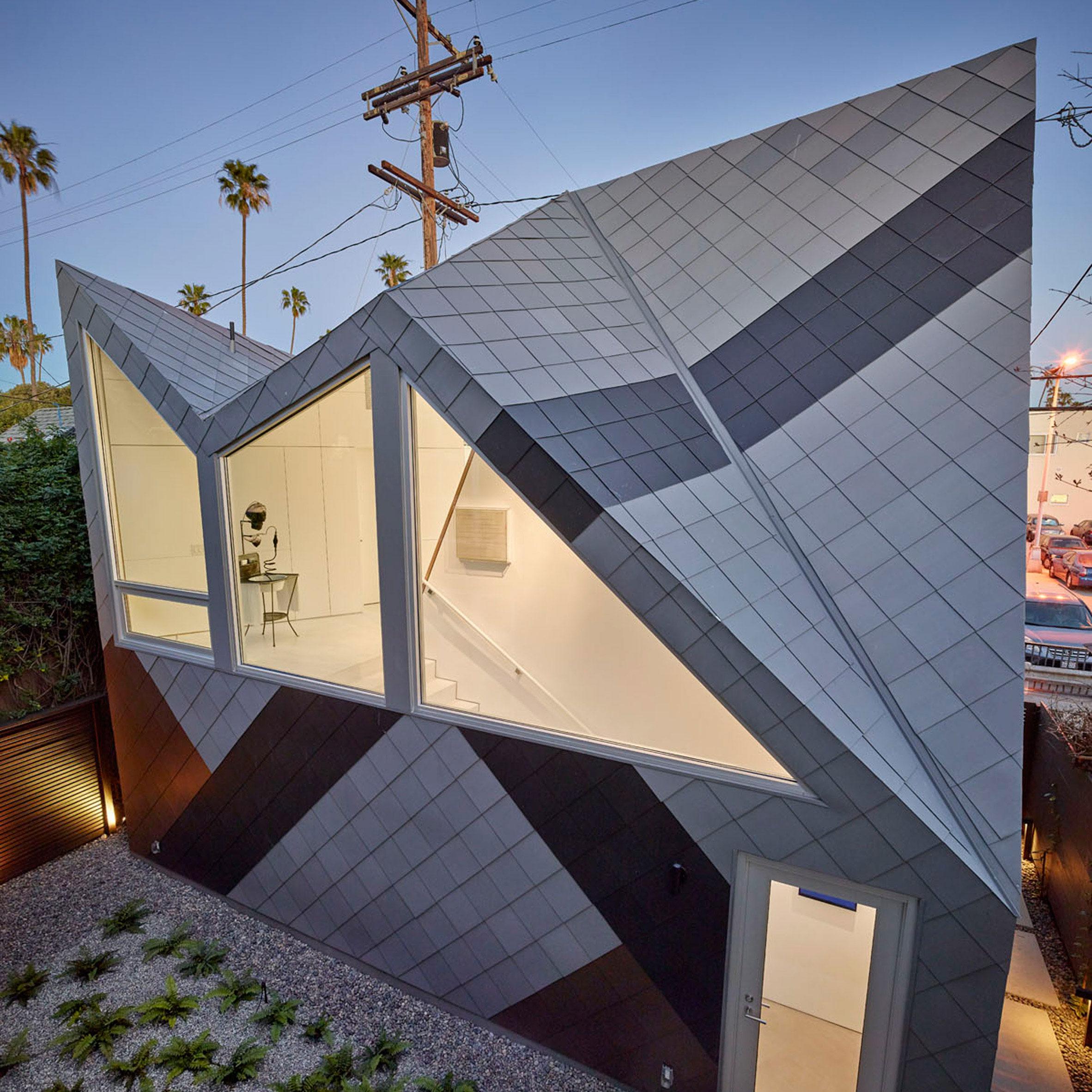 zinc architecture and design dezeen