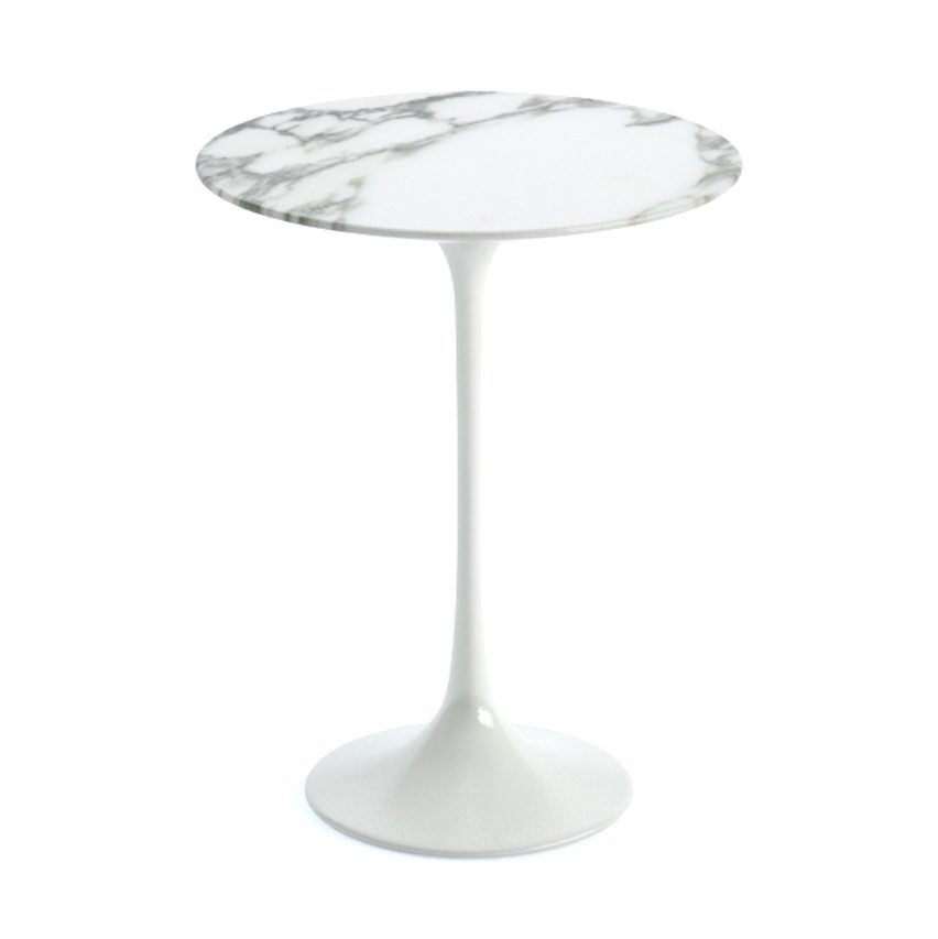 Eero Saarinen's self-titled side table will be the second prize