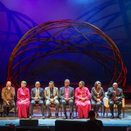 Snøhetta presents memorial arch to Desmond Tutu at Design Indaba
