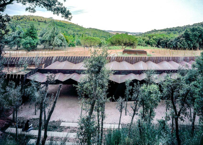 Bell–Lloc Winery, 2007, Palamós, Girona, Spain