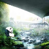 BIG unveils yin-and-yang-shaped Panda House for Copenhagen Zoo